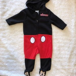 Disney One Pieces - 3 Months Mickey Jumpsuit